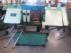 """Enco BS-12A 12"""" Auto Horizontal Band Saw s/n 12434 w/ Controls, 6-Speeds, Auto Feed, SOLD AS IS"""