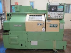 Mori Seiki AL-2ATM CNC Turning Center s/n 1498 w/ Yasnac Controls, Tool Presetter, SOLD AS IS