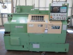 Mori Seiki AL-2ATM CNC Turning Center s/n 1584 w/ Yasnac Controls, Tool Presetter, SOLD AS IS