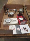 Dial Drop Indicators and Magnetic Indicator Base
