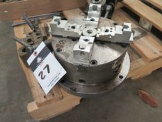 """8"""" 4-Jaw Chuck and Misc Fixtures (FOR NIKKEN 4th AXIS)"""
