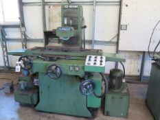 """Sunmax SGS-1024 AH 10"""" x 24"""" Automatic Hydraulic Surface Grinder w/ Sunmax Controls, SOLD AS IS"""