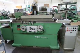 "Tschudin HTG-620 7 ½"" x 24"" Cylindrical Grinder s/n 75-96 w/ Tschudin Controls, Marposs SOLD AS IS"