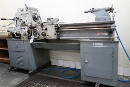 "Rockwell ""Delta 14"" 14"" x 45"" Lathe s/n 1403561 w 40-1600 Adjustable RPM, (SOLD AS IS)"
