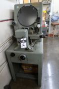 "Clausing Covel mdl. 4301 14"" Optical Comparator s/n 14B-3340 w/ Micrometer Readouts, Surface and"