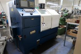 2003 Hardinge mdl. MG Conquest GT27 SP CNC Cross Slide Gang Tool lathe s/n MG-102 SOLD AS IS