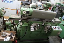 "Studer RHU-500 7 ½"" x 20"" Automatic Cylindrical Grinder s/n 1207 w/ Studer Controls, SOLD AS IS"