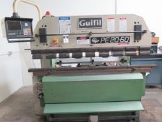 1990 Guifil PE20-60 66 Ton x 7' CNC Hydraulic Press Brake s/n 012564 w/ Autobend 5C, SOLD AS IS