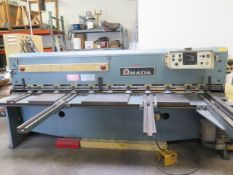 "Amada M-2545 .177"" x 98"" Power Shear s/n 2502094 w/ Amada Controls, 60 Strokes/Min, SOLD AS IS"
