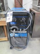 Miller Millermatic 200 Wire Welder s/n LF085483, SOLD AS IS AND NO WARRANTY