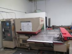 Murata / Wiedemann Centrum 2000/Q 22-Ton 22-Station CNC Turret Punch s/n 339 w Fanuc 0P, SOLD AS IS