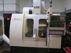 2011 Litz Hitech CV-800 4-Axis CNC Vertical Machining Center s/n 3A1121091 w/ Fanuc Series 18i-MB