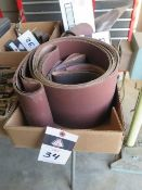"""4"""" and 6"""" Sanding Belts (SOLD AS-IS – NO WARRANTY)"""