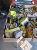 DeWalt and Ryobi Cordless Tools w/ Chargers (SOLD AS-IS – NO WARRANTY)