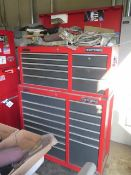 Craftsman Roll-A-Way Tool Box w/ Tools (SOLD AS-IS – NO WARRANTY)