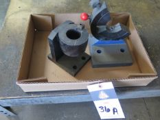 40-Taper Tooling Blocks (2) (SOLD AS-IS - NO WARRANTY)