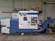 Mori Seiki SL-65A CNC Turning Center s/n 1146 w/ Fanuc Series MF-T6 Controls, SOLD AS IS