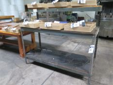 Work Benches (4) (SOLD AS-IS - NO WARRANTY)