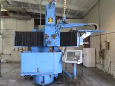 "Giddings & Lewis 36"" CNC Vertical Turret Lathe s/n 511-48-79 w/ Fanuc Series 18i-T SOLD AS IS"