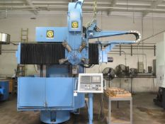"Giddings & Lewis 42"" CNC Vertical Turret Lathe s/n 511-51-79 w/ Fanuc Series 18i-T SOLD AS IS"