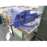 """Kobalt 6"""" Bench Vise w/ Bench (SOLD AS-IS - NO WARRANTY)"""