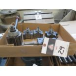 Aloris Tool Post and Tool Holders (SOLD AS-IS - NO WARRANTY)