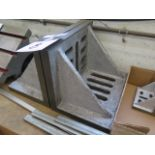 """8"""" x 12"""" x 9"""" Angle Plates (2) (SOLD AS-IS - NO WARRANTY)"""