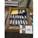 Collet Block Set and (14) 5C Collets (SOLD AS-IS - NO WARRANTY)