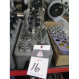 CAT-40 Taper Tooling (10) w/ Rack (SOLD AS-IS - NO WARRANTY)