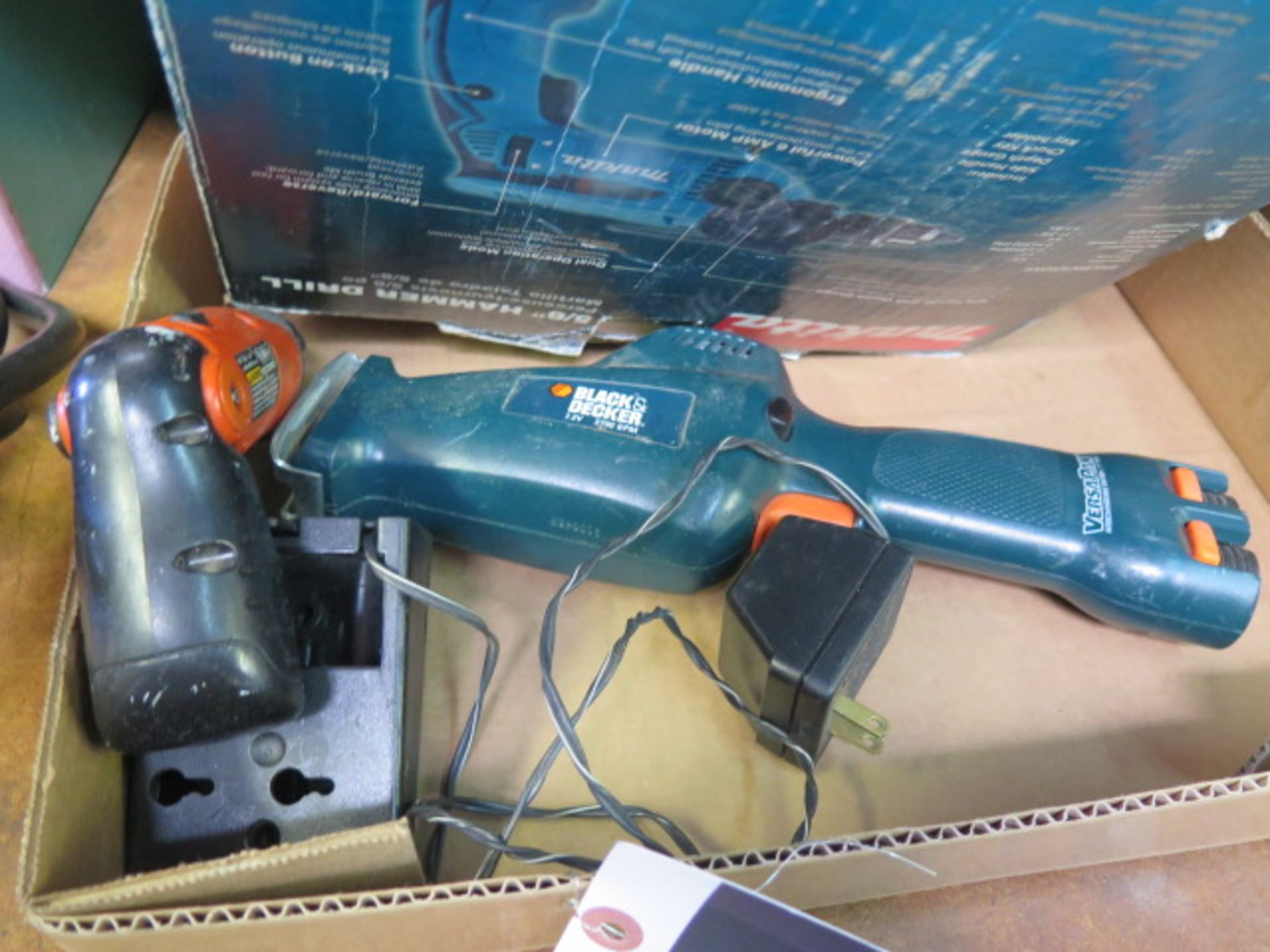 Lot 8 - Makita Hammer Drill and Black & Decker Cordless Jig Saw (SOLD AS-IS - NO WARRANTY)