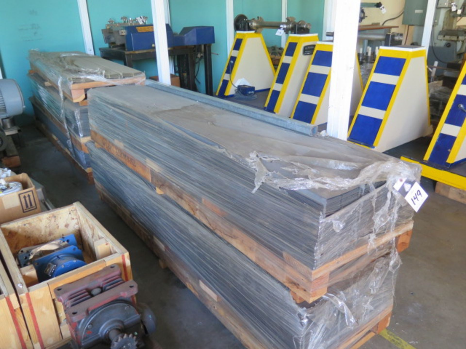"""Lot 149 - 22"""" x 7' Formed Panels (5-Pallets) (SOLD AS-IS - NO WARRANTY)"""
