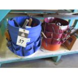 Tool Buckets w/ Hand Tools (SOLD AS-IS - NO WARRANTY)