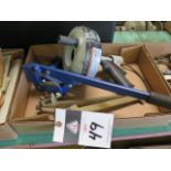 Drain Snake, Barrel Wrench and Barrel Can Opener (SOLD AS-IS - NO WARRANTY)