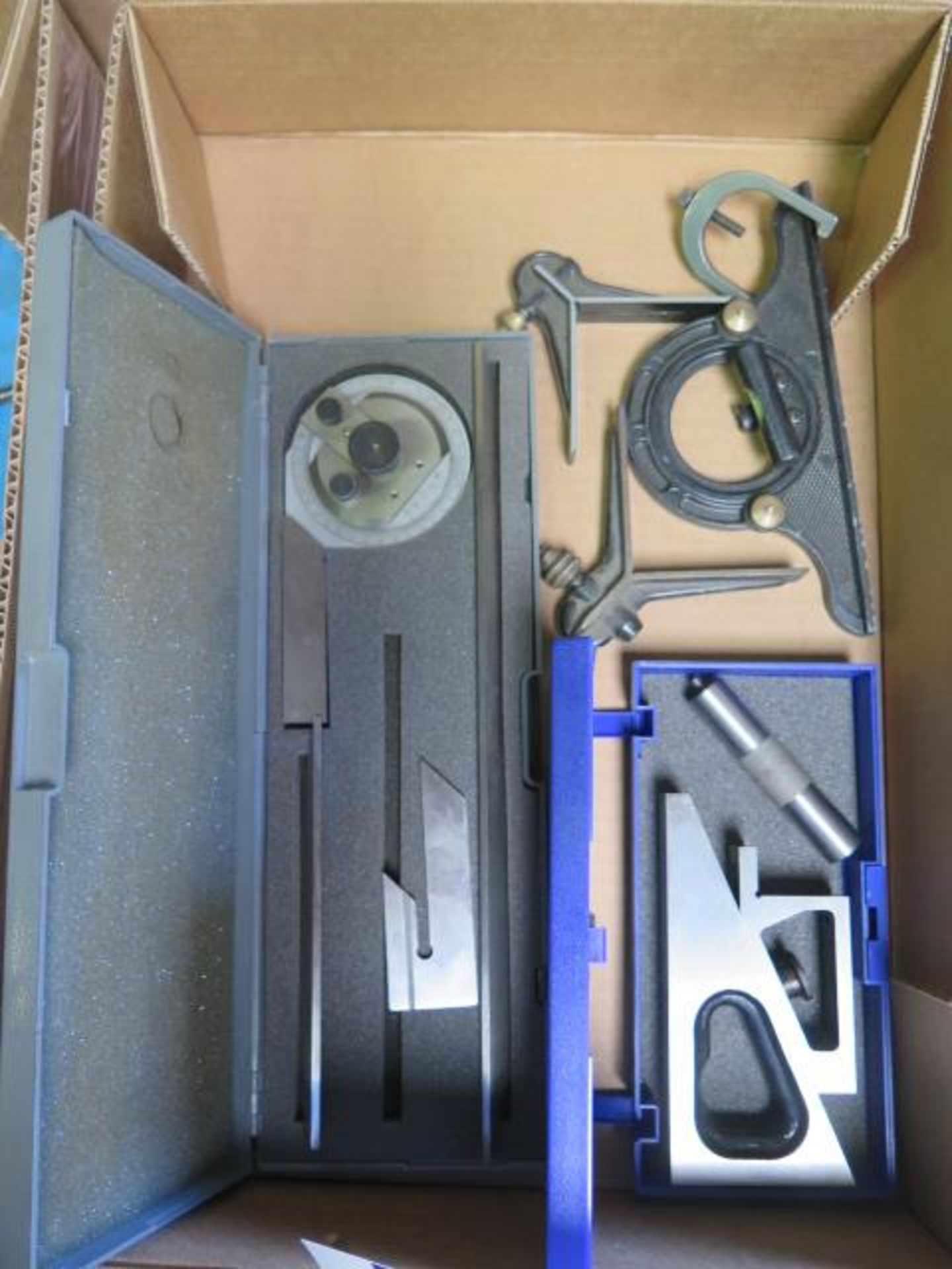 Lot 165 - Planer Gage and Protractors (SOLD AS-IS - NO WARRANTY)