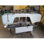 """Johnson mdl. J 10"""" Horizontal Band Saw s/n J-13468 w/ Manual Clamping, Work Stop (SOLD AS-IS - NO"""