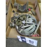 Centers and Diamond Wheel Dressers (SOLD AS-IS - NO WARRANTY)
