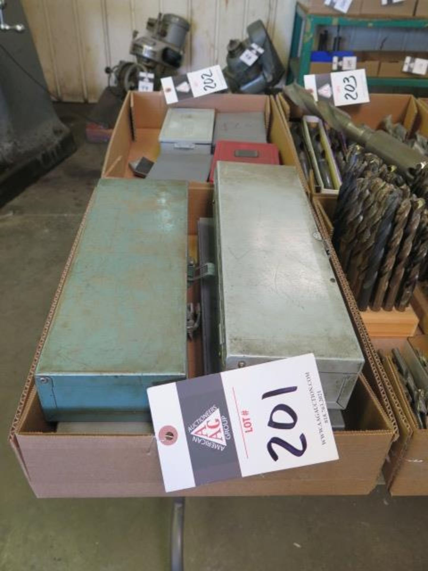 Lot 201 - Drill Indexes (SOLD AS-IS - NO WARRANTY)