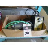 Baldor 3/4Hp Motor w/ Motor Speed Controller (SOLD AS-IS - NO WARRANTY)