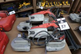 Milwaukee Electric Beam Band Saws (2) (SOLD AS-IS - NO WARRANTY)