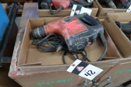 Hilti TE-30 Electric Hammer Drill (SOLD AS-IS - NO WARRANTY)