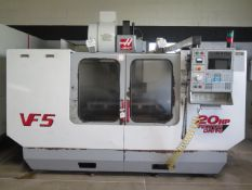 2000 Haas VF-5 4-Axis CNC Vertical Machining Center s/n 21677 w/ Haas Controls, SOLD AS IS