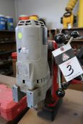 Milwaukee Magnetic Base Drill (SOLD AS-IS - NO WARRANTY)