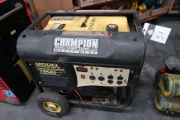 Champion mdl. 41532 9000 Watt Starting / 7000 Watt Continuos Portable Generator w/ Champion 439cc