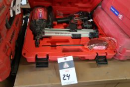 """Powers """"Trak-It C5"""" Cordless Nailer w/ Batteries and Charger (SOLD AS-IS - NO WARRANTY)"""