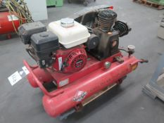 Tahoe Gas Powered Portable Air Compressor w/ Honda GX200 Gas Engine (SOLD AS-IS - NO WARRANTY)
