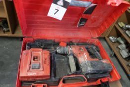 Hilti TE6-A Cordless Hammer Drill Set (SOLD AS-IS - NO WARRANTY)