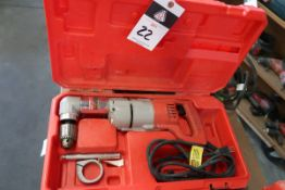 Milwaukee 90 Degree Electric Drill (SOLD AS-IS - NO WARRANTY)