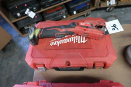 Milwaukee M12 Cordless Copper Tubing Cutters (2) (SOLD AS-IS - NO WARRANTY)