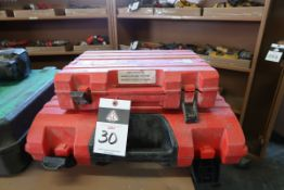 Hilti BX-3 Cordless Concrete Hailer and DX-35 Shot Nailer (SOLD AS-IS - NO WARRANTY)