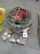 welding Torches, Gauges and Lines (SOLD AS-IS - NO WARRANTY)